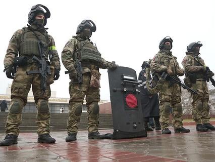 Военнослужащие Федеральной службы войск национальной гвардии