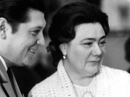 Дочь Генерального секретаря ЦК КПСС Леонида Брежнева - Галина