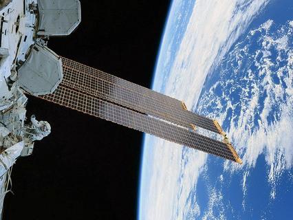 Вид на Землю с Международной космической станции
