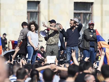 В Ереване проходит митинг оппозиции
