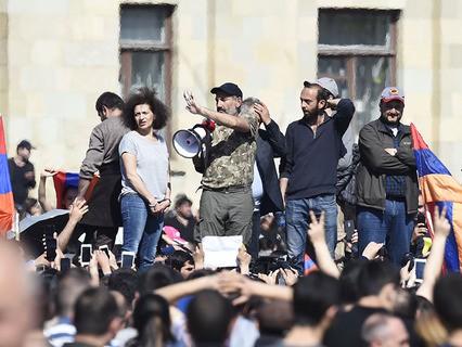 Протестный митинг в Ереване