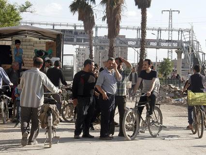 Из южных кварталов Дамаска вывели всех боевиков