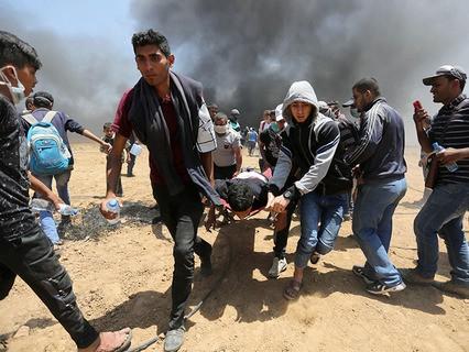 Беспорядки на границе Израиля и сектора Газа