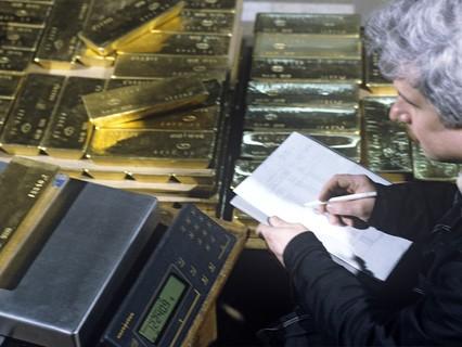 Приём партии золота в слитках. 1993 год