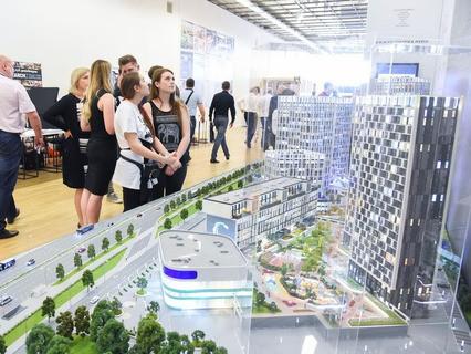 Международная выставка архитектуры и дизайна в ЦДХ на Крымском валу
