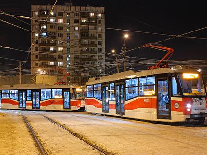 Наша Москва. Трамвайный маршрут