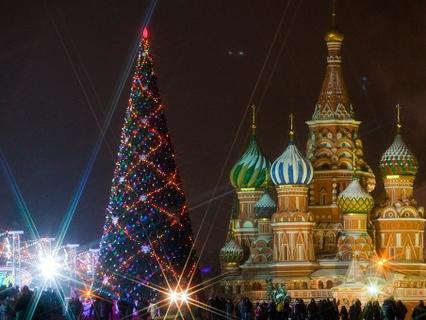 Наша Москва. Новогодняя ёлка