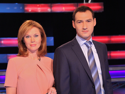Ольга Кокорекина и Роман Бабаян