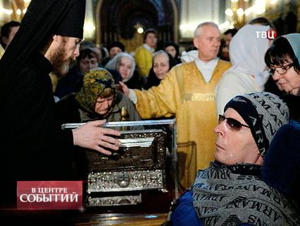 В центре событий с Анной Прохоровой. Эфир от 19.01.2014