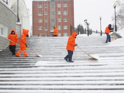Наша Москва. Зимняя уборка