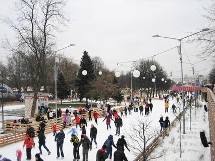 Наша Москва. Зимний парк