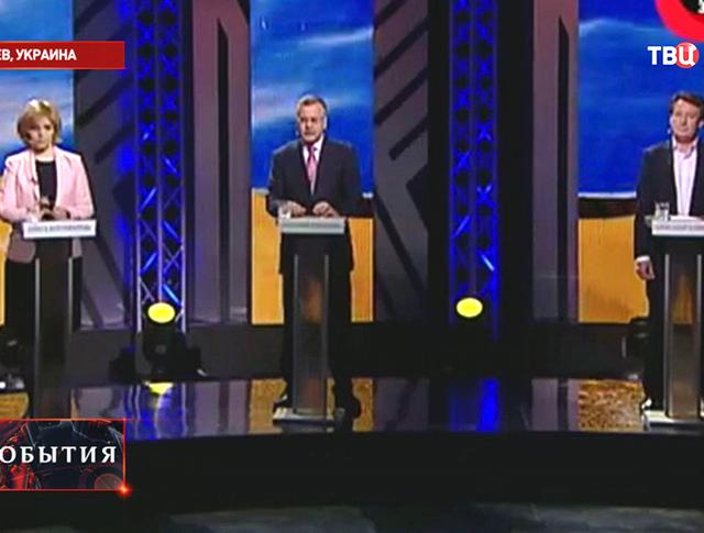 Теледебаты кандидатов на пост президента Украины