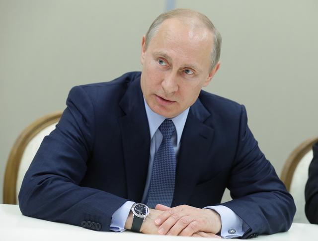 Владимир Путин во время встречи с представителями общин крымских татар