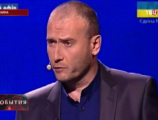 Кандидат в президенты Украины Дмитрий Ярош