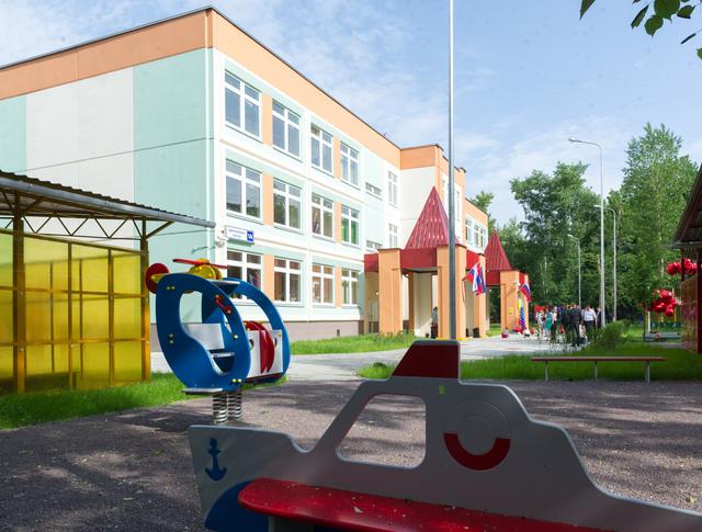 Новый детский сад в Северном Измайлове