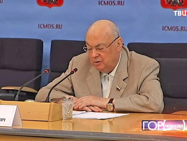 Депутат Государственной Думы РФ, советник мэра Москвы Владимир Ресин