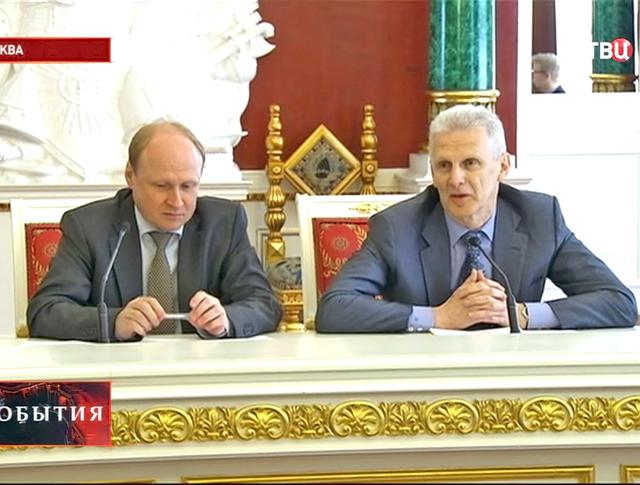Помощник президента Андрей Фурсенко