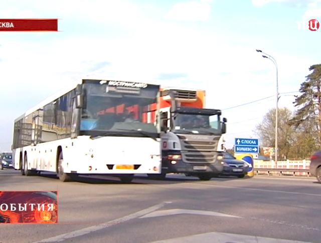 Транспортное движение в Москве
