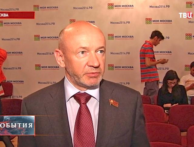 Председатель Московской городской думы Владимир Платонов