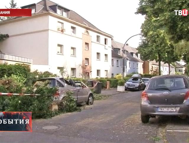 Сильный ураган в Германии
