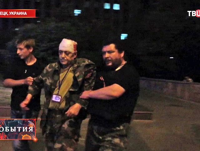Пострадавший при взрыве машины лидера ДНР Дениса Пушилина