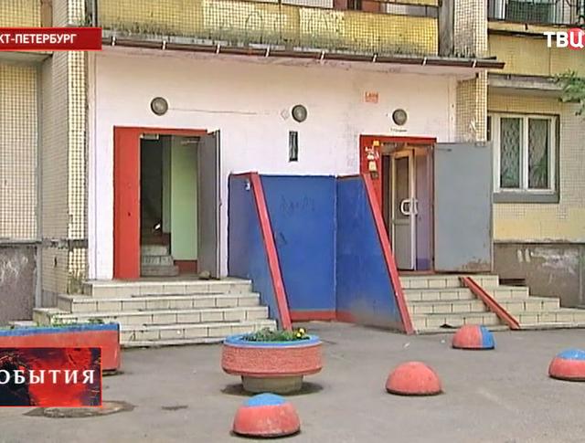 Жилое здание в Санкт-Петербурге