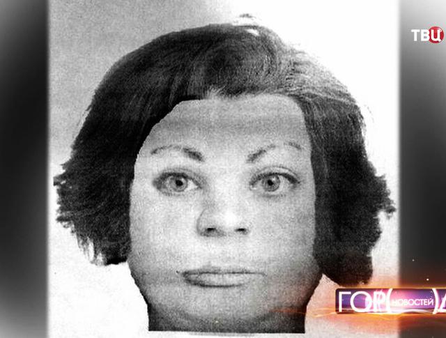 Фоторобот женщины, похитившей новорожденного ребенка из палаты детского отделения Дедовской городской больницы