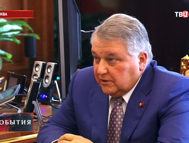 Глава Курчатовского института ядерные технологии Михаил Ковальчук