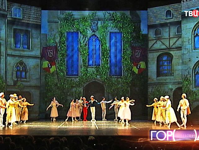 Цифровые декорации в балетной постановке