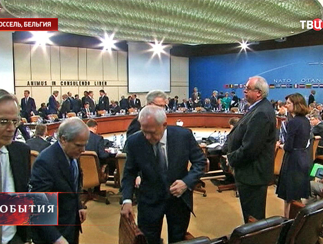 Встреча министров иностранных дел государств входящих в состав НАТО