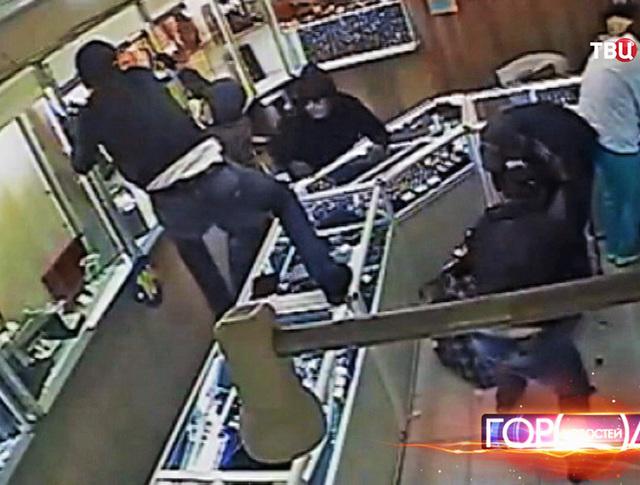 Ограбление ювелирного магазина