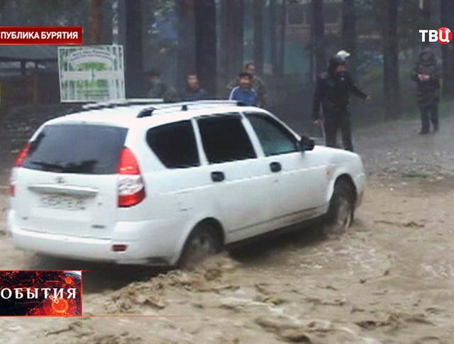 Наводнение в Бурятии