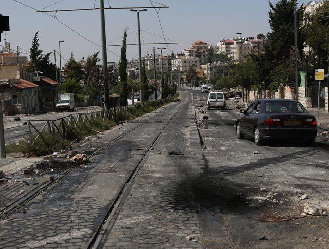Последствия авиаудара палестинских ВВС по Израилю