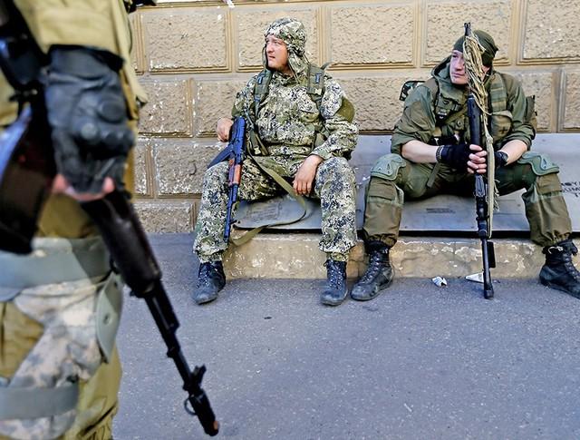 Народные ополченцы ДНР