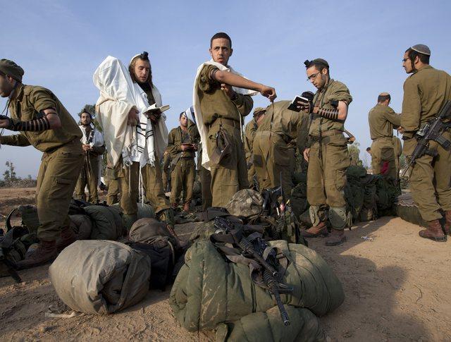 Израильские сухопутные войска на границе с сектором Газа