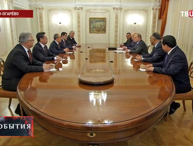 Владимир Путин встретился с разведслужбами стран СНГ