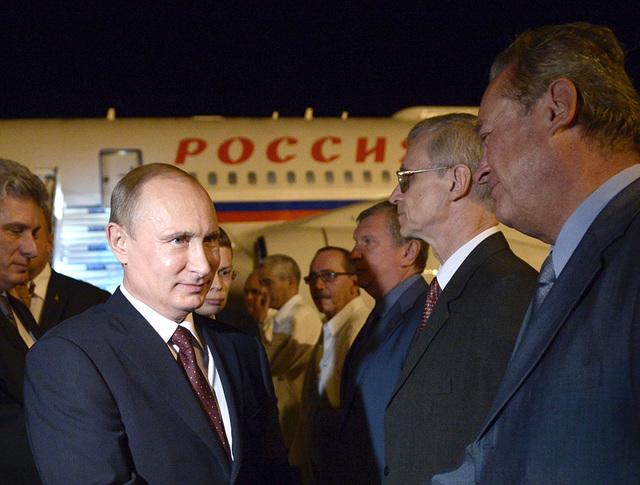 Официальный визит президента России Владимира Путина на Кубу