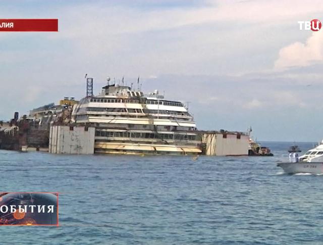 Лайнер Costa Concordia