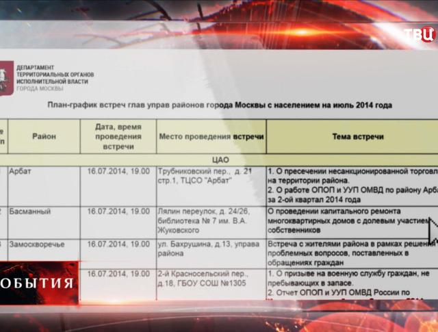 Портал Департамента территориальных органов исполнительной власти города Москвы