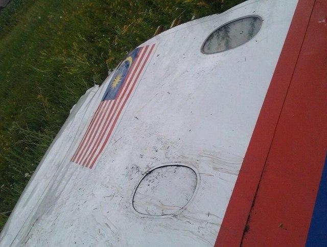 Обломки упавшего Boeing