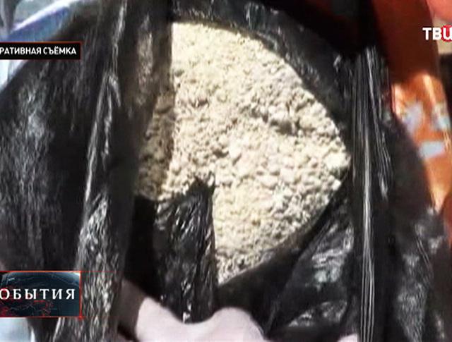 Изъятие наркотиков