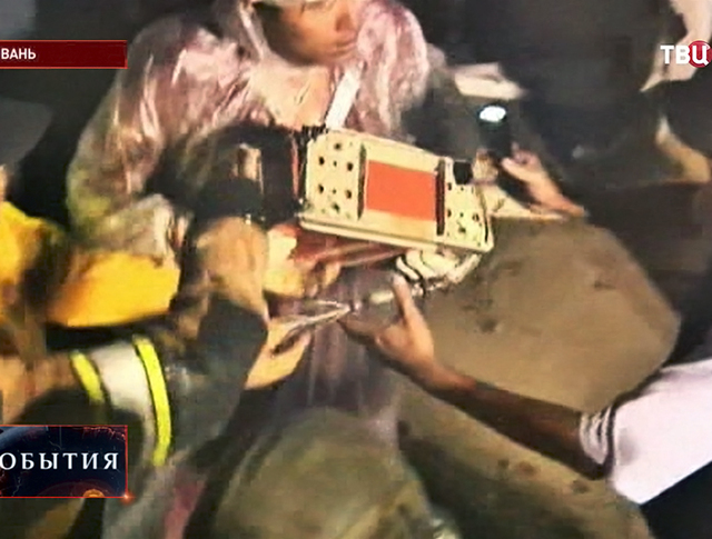 Бортовой самописец пассажирского самолета потерпевшего катастрофу на Тайване