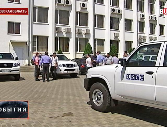 Представители ОБСЕ в Ростовской области