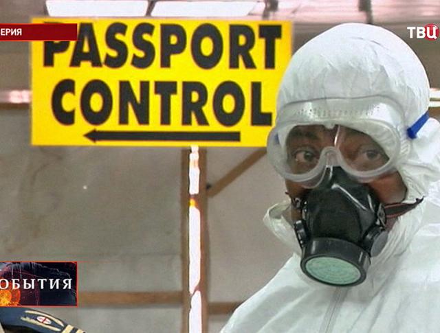 Вспышка лихорадки Эбола в Либерии