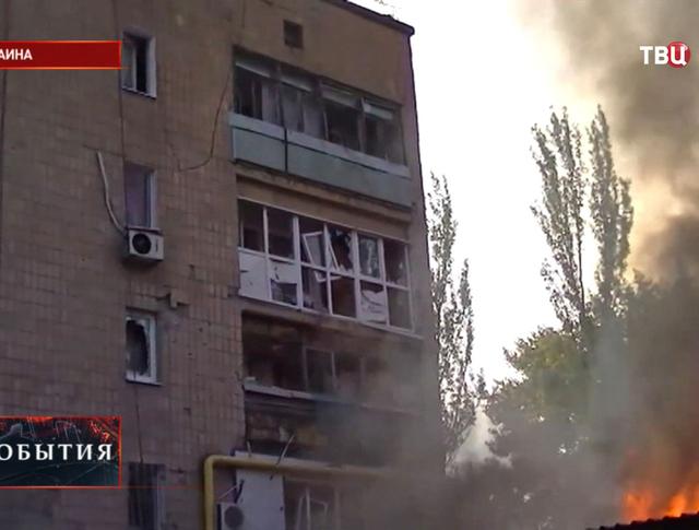 Бои на Украине