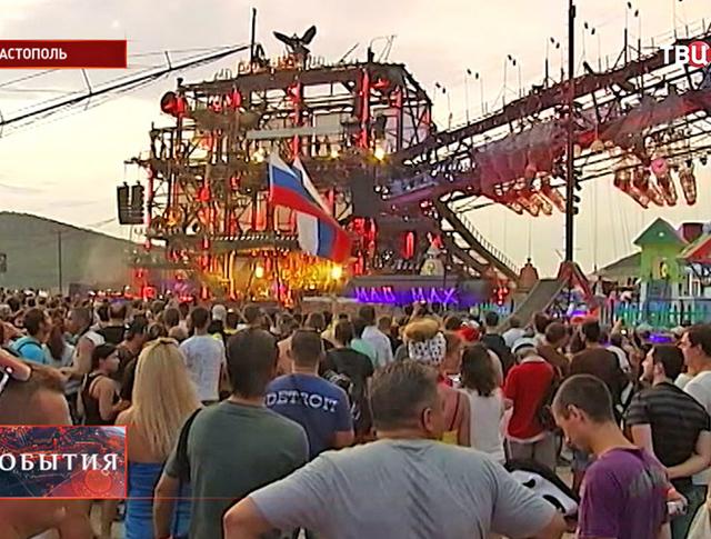 Байкерский фестиваль в Севастополе
