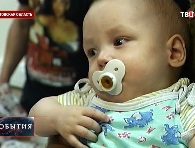 Детей из Луганска доставили в Ростовскую область