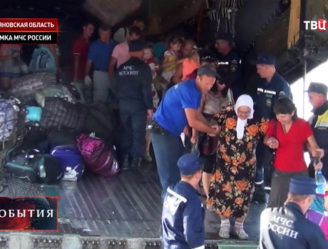 Беженцы с Украины в Ульяновской области