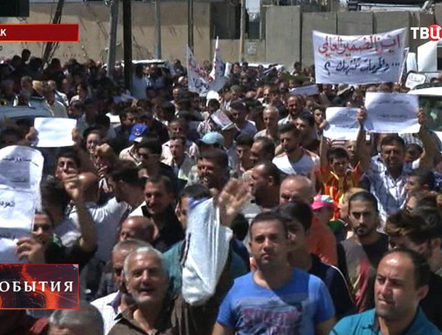 Митинг в Ираке