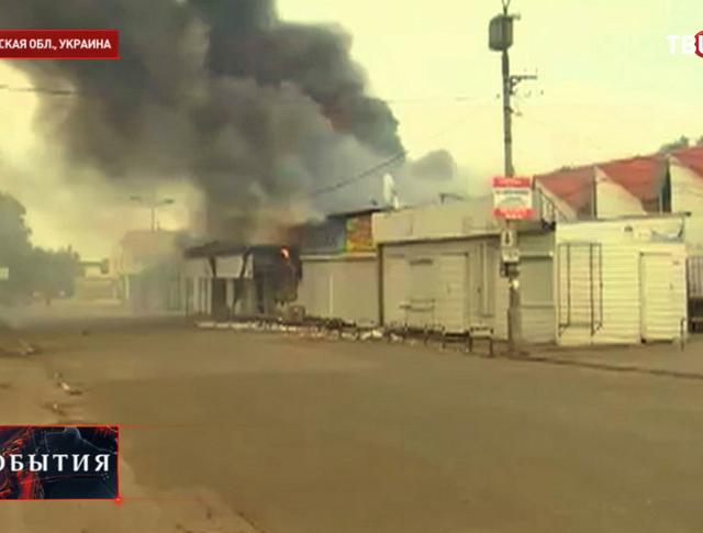 Бои в Луганской области